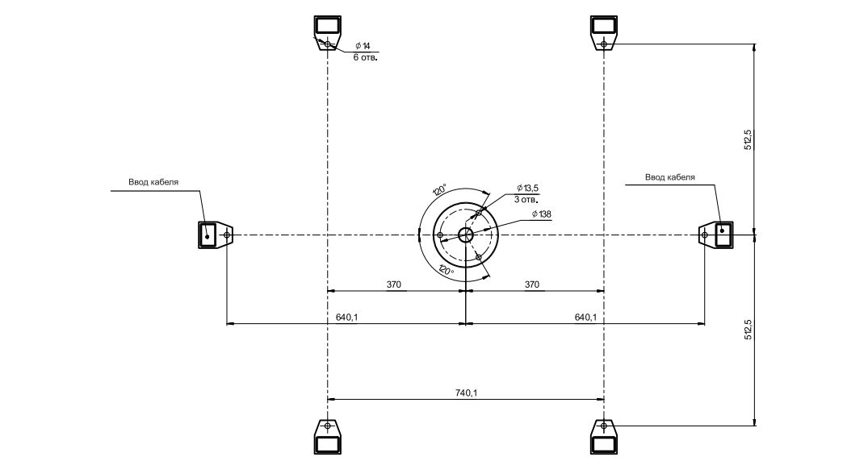 GlassGo - схема монтажа