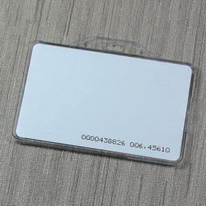 Пластиковый карман для бесконтактных карт