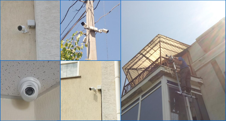 Монтаж систем контроля доступа и видеонаблюдения