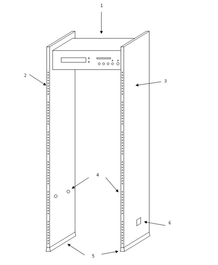 Конструкция металлодетектора VO-2000