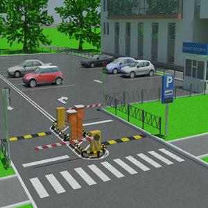 Системы управления парковкой — автоматизация паркинга