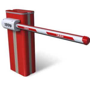 Гидравлический шлагбаум FAAC B680 RAPID. Круглая стрела — до 6.3 м.