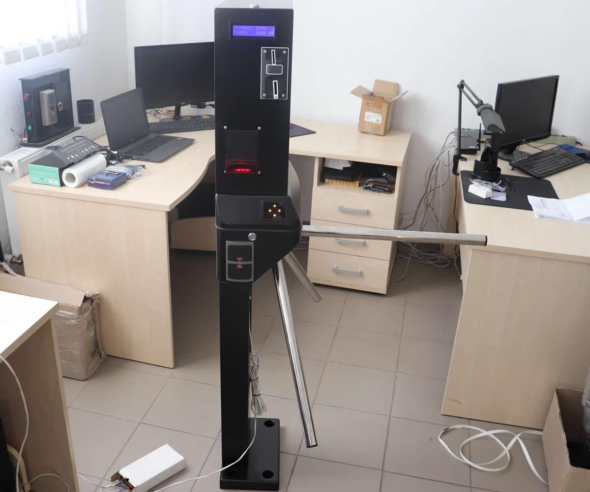 Турникет для платного туалета с возможностью построения отчетов - Бизант 5.1 WC Cash+RFID
